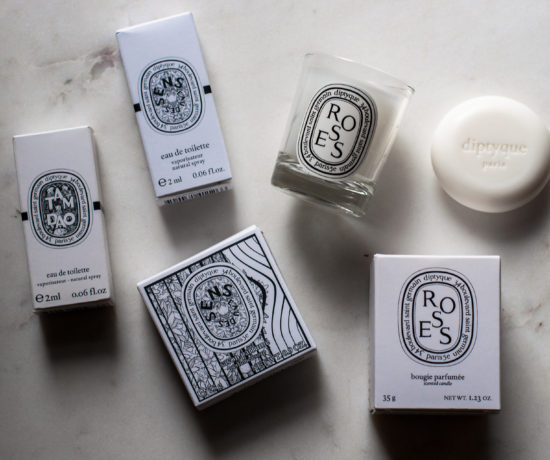 diptyque flatlay sarenabee beauty