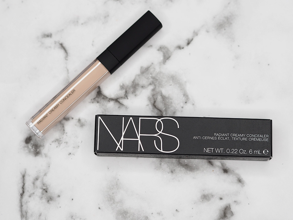 NARS Dual Intensity Eyeshadow, Laguna Bronzer and Creamy Concealer Review via Sarenabee.com