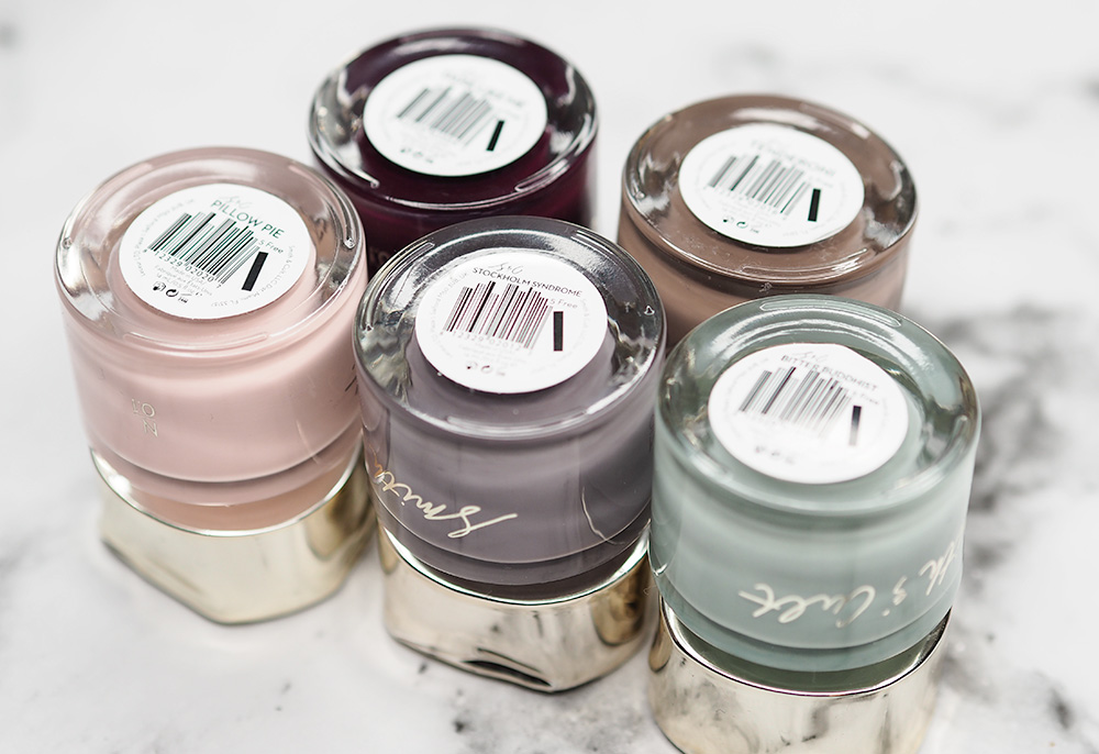 Smith and Cult Nail Polish Love Affair via Sarenabee.com