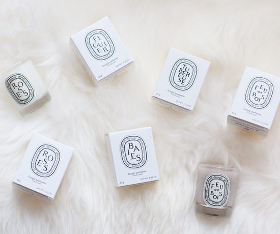 Diptyque Candles via Sarenabee.com