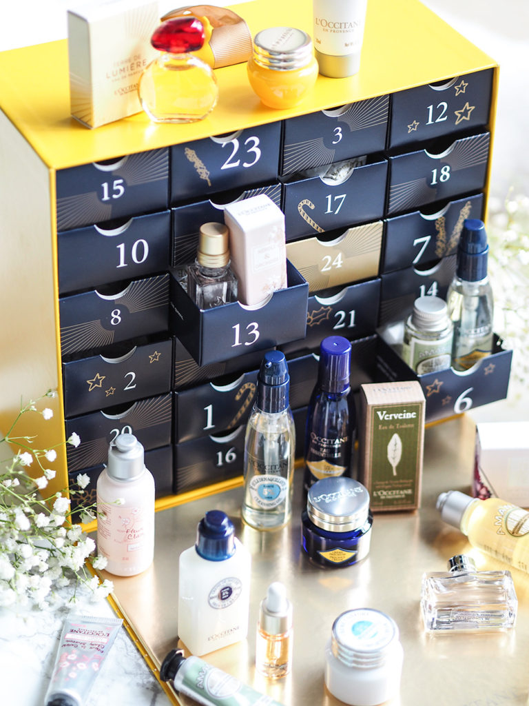 L'Occitane Beauty Advent Calendars for 2017 via Sarenabee.com