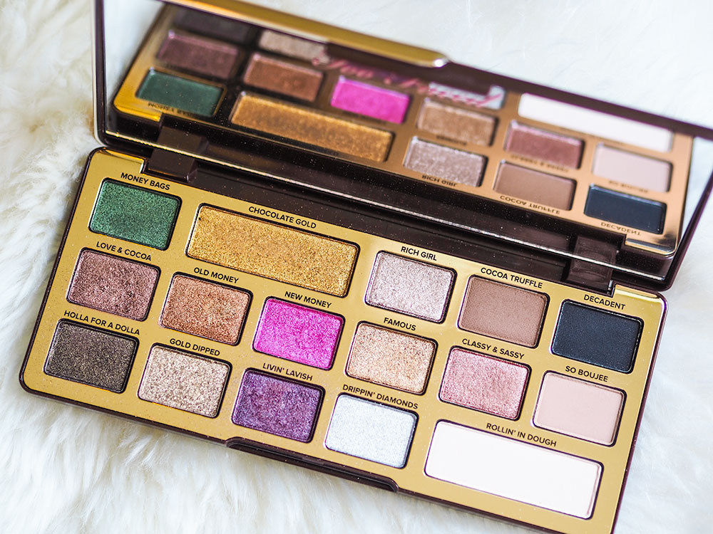 Too Faced Chocolate Gold Eyeshadow Palette | Sarenabee com